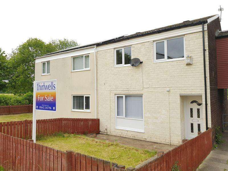3 Bedrooms Terraced House for sale in Dallas Court, Hemlington