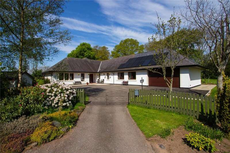 4 Bedrooms Detached House for sale in Caline, Haulkerton Wood, By Laurencekirk, Kincardineshire, AB30