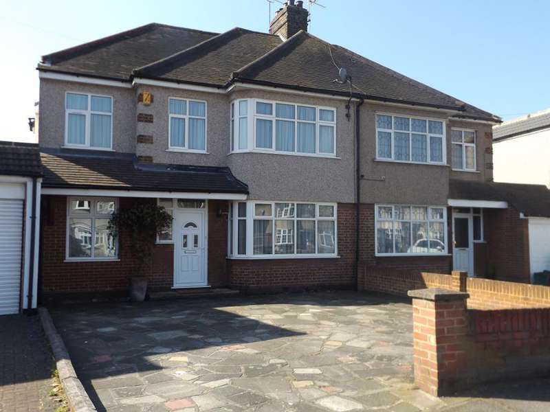 4 Bedrooms Semi Detached House for sale in Belmont Road, Northumberland Heath, Erith, Kent, DA8 1LF