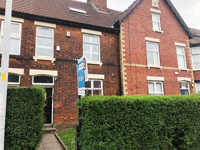 4 Bedrooms Terraced House for sale in Wellington Road North, Stockport