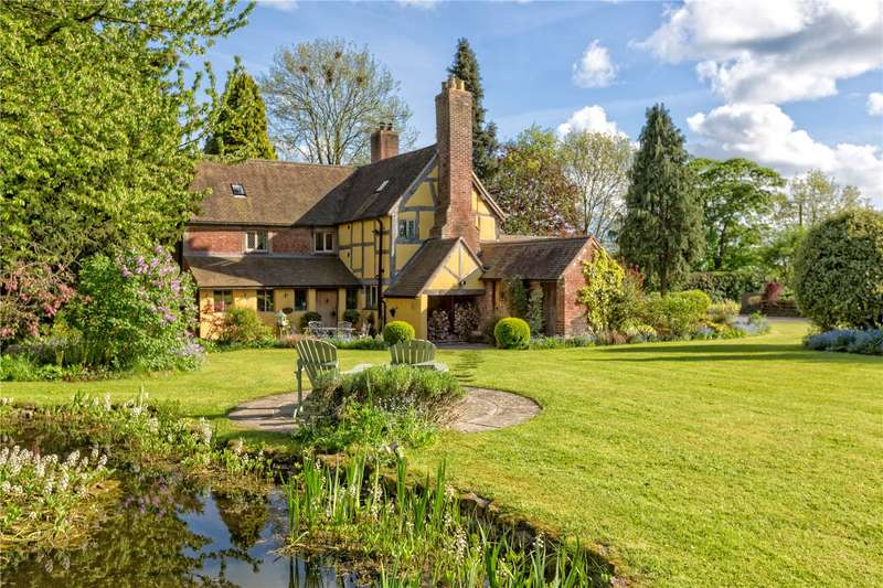 6 Bedrooms Detached House for sale in Brockton Cottage, Brockton, Shifnal, Shropshire, TF11