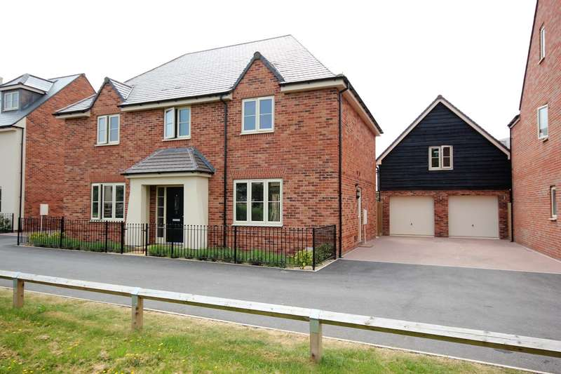 5 Bedrooms Detached House for sale in Leslie Walk, Whittington, Worcester, WR5
