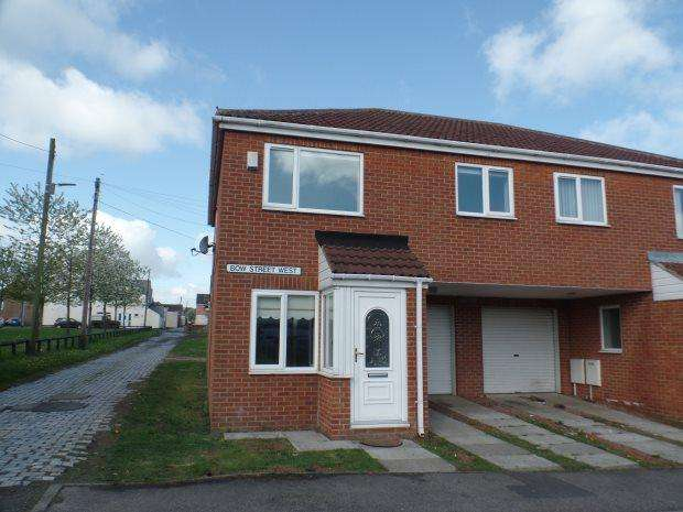 3 Bedrooms Semi Detached House for sale in BOW STREET WEST, THORNLEY, PETERLEE AREA VILLAGES