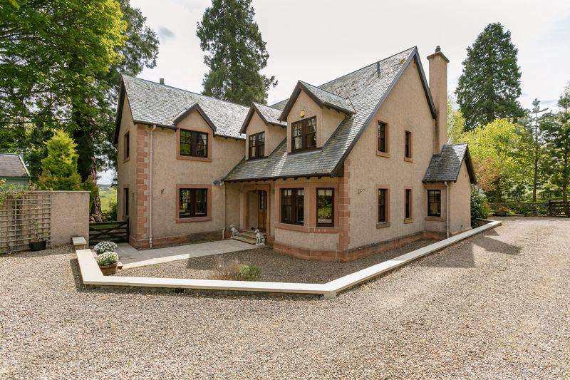 4 Bedrooms Detached House for sale in The Court House, The Woll, Ashkirk, Selkirk