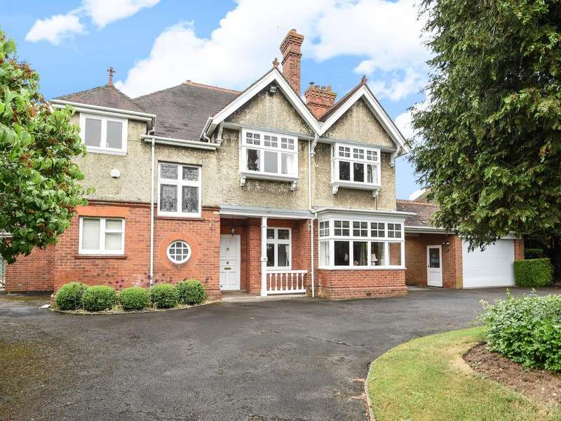 5 Bedrooms Detached House for sale in Woodcote Road, Caversham, Reading, RG4