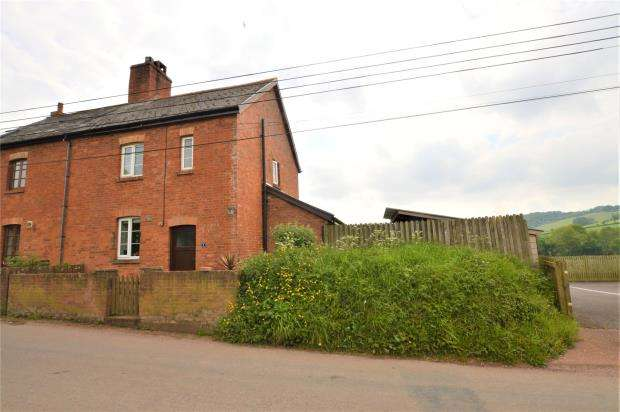 3 Bedrooms Semi Detached House for sale in Court Barton Cottages, Venny Tedburn, Crediton, Devon
