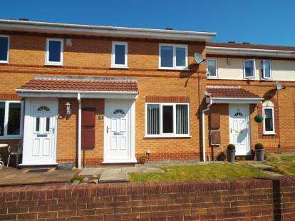 2 Bedrooms Terraced House for sale in Ashdown Mews, Fulwood, Preston, Lancashire, PR2