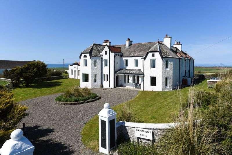5 Bedrooms Detached House for sale in Knocknassie House, Kirkcolm, Stranraer, Dumfries & Galloway, South West Scotland, DG9