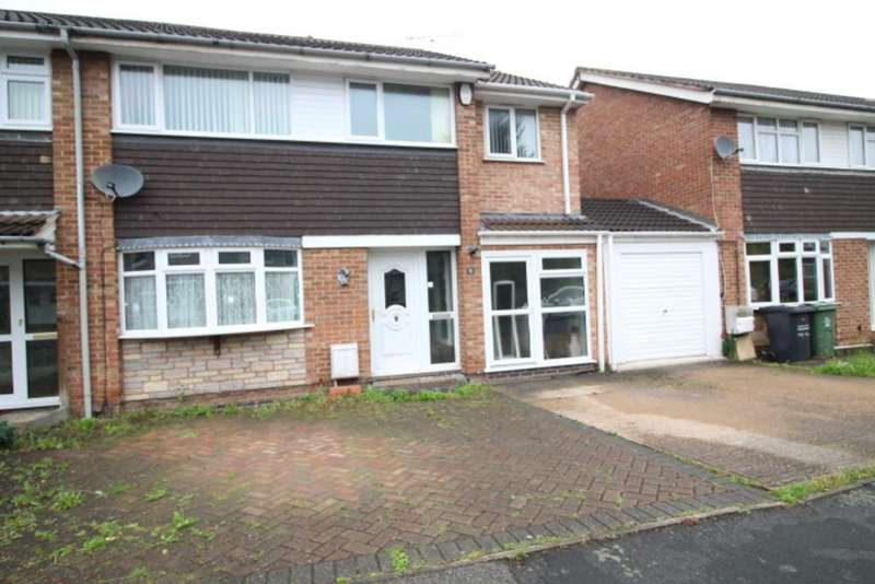 4 Bedrooms Semi Detached House for sale in Hayward Avenue, Loughborough