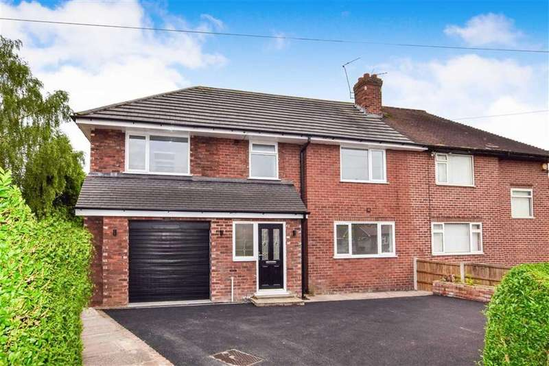 4 Bedrooms Semi Detached House for sale in Whitley Gardens, Timperley, Cheshire, WA15