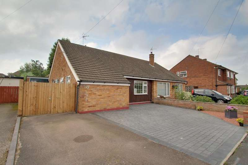 2 Bedrooms Semi Detached Bungalow for sale in Blenheim Road, Birstall