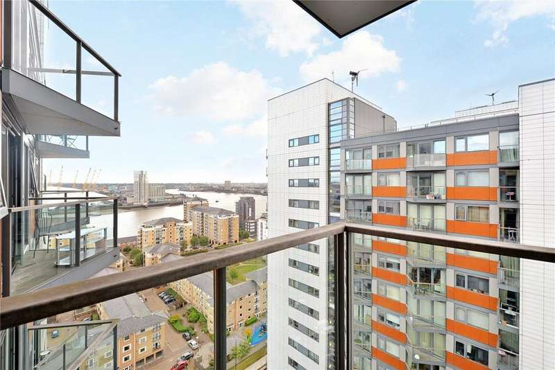 2 Bedrooms Flat for sale in Neutron Tower, 6 Blackwall Way, London