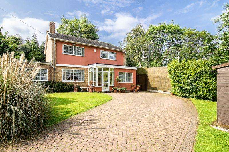 4 Bedrooms Detached House for sale in Norfolk Road, Sutton Coldfield