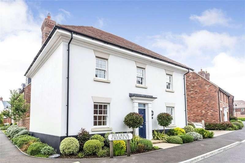 4 Bedrooms Detached House for sale in Hillrick Crescent, Yeovil, Somerset