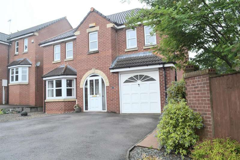 4 Bedrooms Property for sale in Coltsfoot Close, Swadlincote