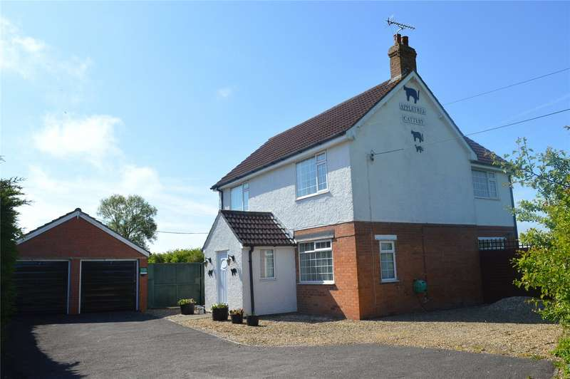 4 Bedrooms Detached House for sale in Old Pawlett Road, West Huntspill, Highbridge, Somerset, TA9