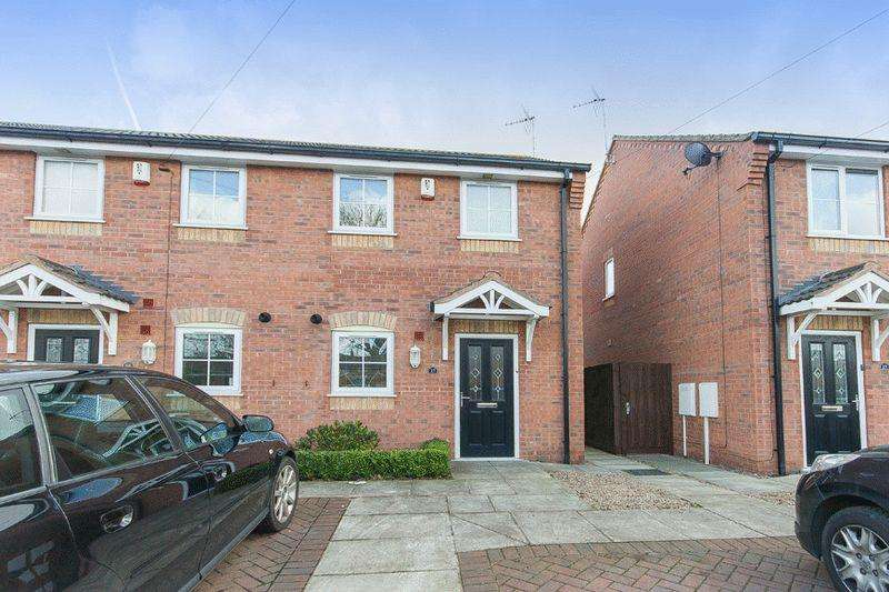 2 Bedrooms End Of Terrace House for sale in SANDGATE CLOSE, ALVASTON