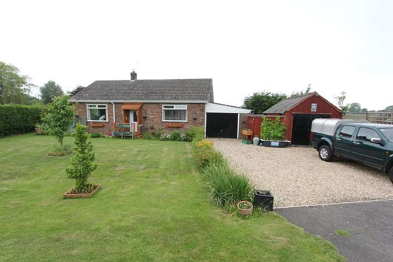 3 Bedrooms Detached Bungalow for sale in Hagnaby Lane, Keal Cotes, Lincolnshire, PE23 4AL