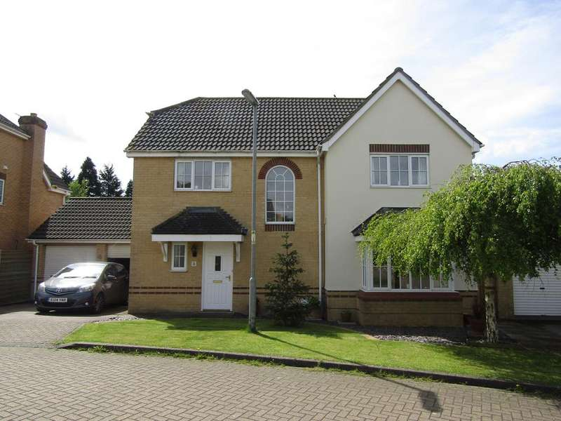 4 Bedrooms Detached House for sale in Howberry Green, Arlesey, SG15 6ZA