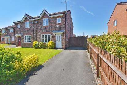 3 Bedrooms Semi Detached House for sale in Brotherston Drive, Fernhurst Farm, Blackburn, Lancashire