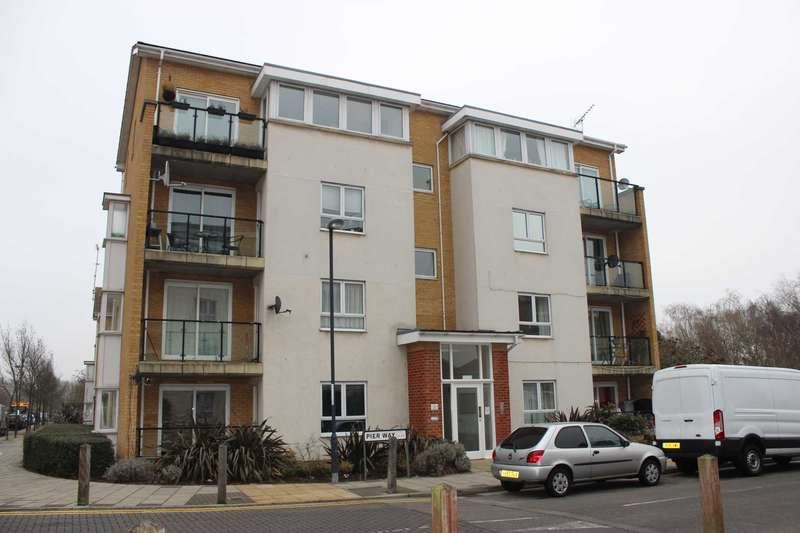 2 Bedrooms Apartment Flat for sale in Pier Way, Thamesmead West, SE28 0GP