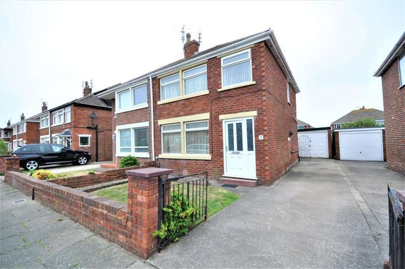 3 Bedrooms Semi Detached House for sale in Stadium Avenue, South Shore, Blackpool, Lancashire, FY4 3QA