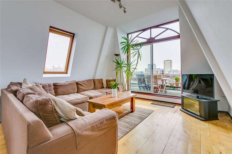 2 Bedrooms Flat for sale in Dawes Road, Fulham, London
