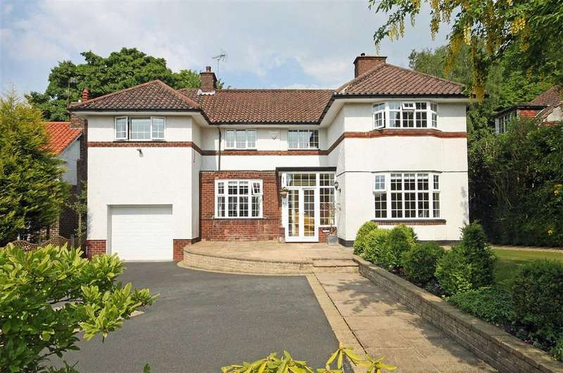 4 Bedrooms Detached House for sale in Hartley Road, Altrincham, Cheshire