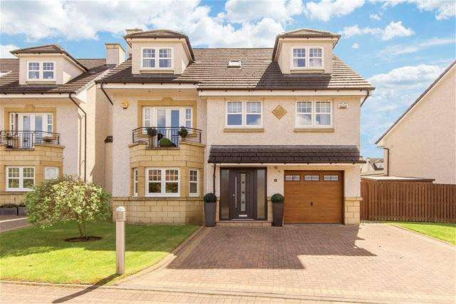 5 Bedrooms Detached House for sale in Jardine Place, , Bathgate, Bathgate