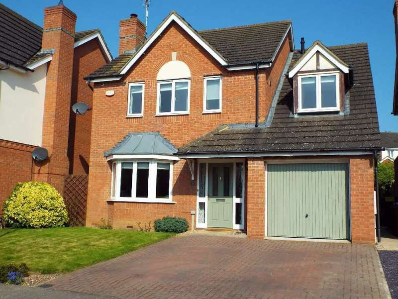 4 Bedrooms Detached House for sale in Briarwood Way, Wollaston, Northamptonshire, NN297QR