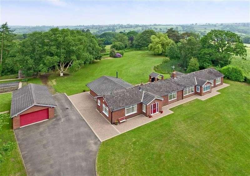 4 Bedrooms Detached Bungalow for sale in Hunters Rise, Bynd Lane, Billingsley, Bridgnorth, Shropshire, WV16