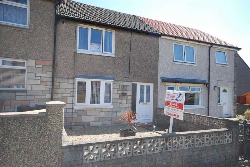 2 Bedrooms Terraced House for sale in Shaw Place, Saltcoats
