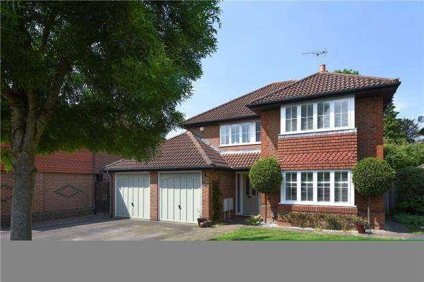 4 Bedrooms Detached House for sale in Suffolk Combe, Warfield