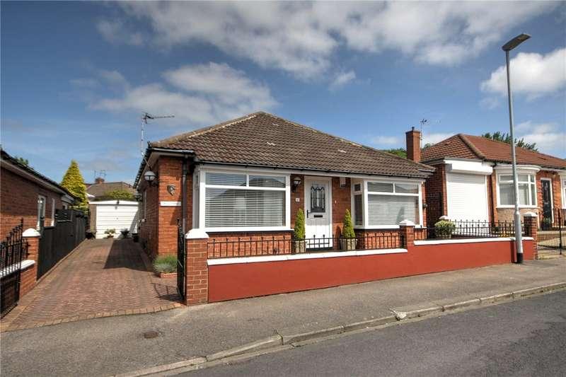 3 Bedrooms Detached Bungalow for sale in Hackworth Road, Shildon, County Durham, DL4