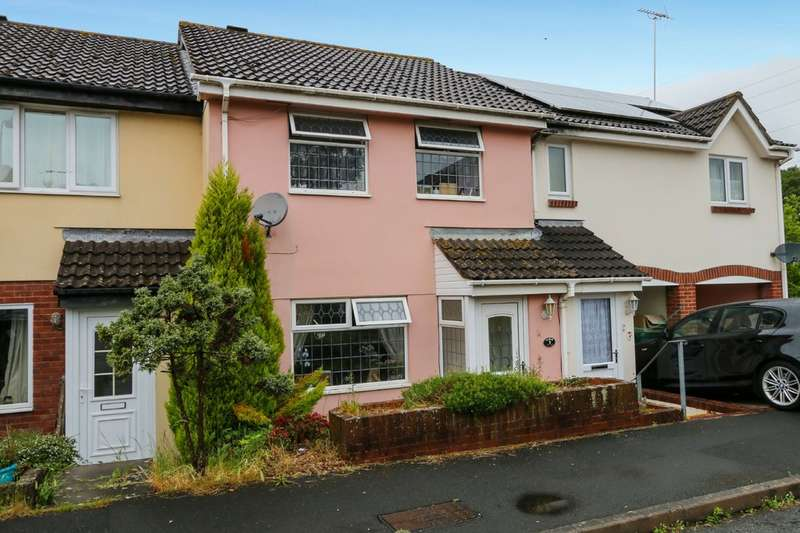 3 Bedrooms Terraced House for sale in Mill End, Kingsteignton