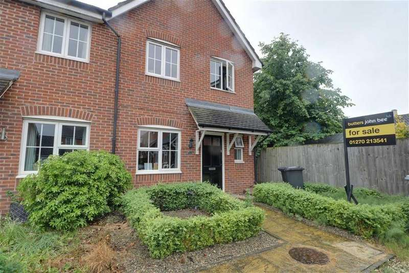 3 Bedrooms Semi Detached House for sale in The Vineyard, Shavington, Crewe