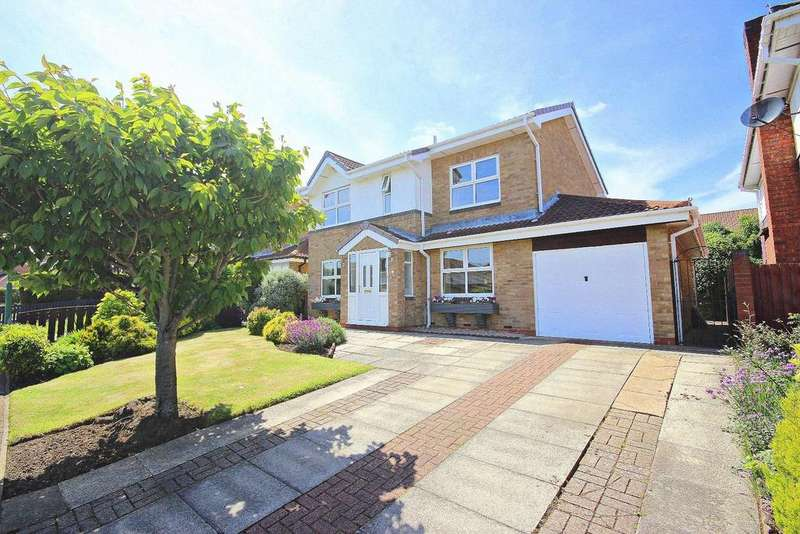 4 Bedrooms Detached House for sale in Warkworth Drive, Chester Le Street