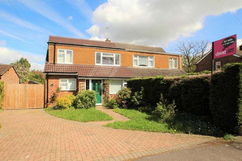 4 Bedrooms Semi Detached House for sale in Stephens Road, Mortimer Common, RG7
