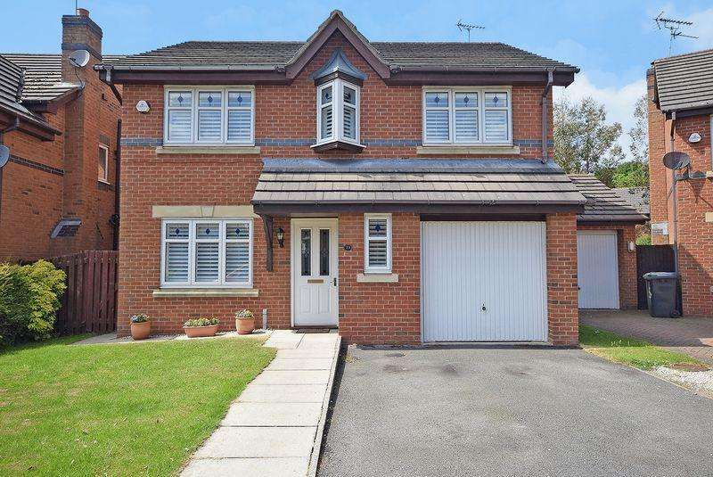 4 Bedrooms Detached House for sale in Kennington Park, Widnes