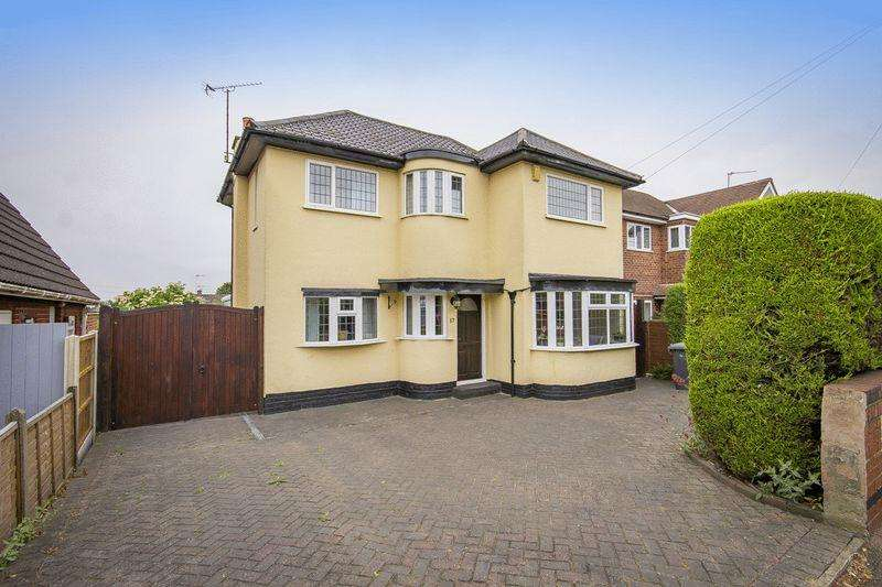 3 Bedrooms Detached House for sale in SUTTON AVENUE, CHELLASTON