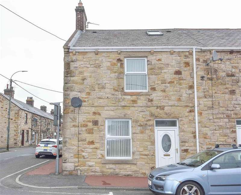 2 Bedrooms End Of Terrace House for sale in West Victoria Street, Consett, County Durham, DH8 5EP