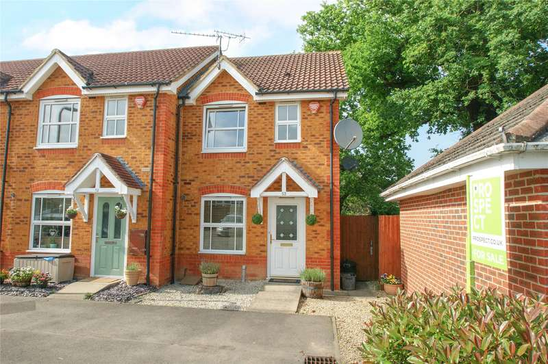 2 Bedrooms End Of Terrace House for sale in Howell Close, Arborfield, Reading, Berkshire, RG2