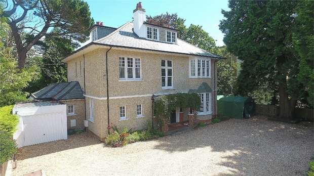 5 Bedrooms Detached House for sale in Meyrick Park, Bournemouth, Dorset