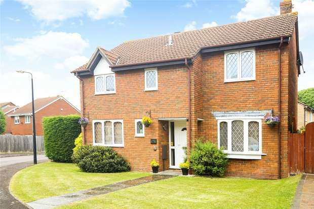 4 Bedrooms Detached House for sale in Merlin Park, Portishead, Bristol
