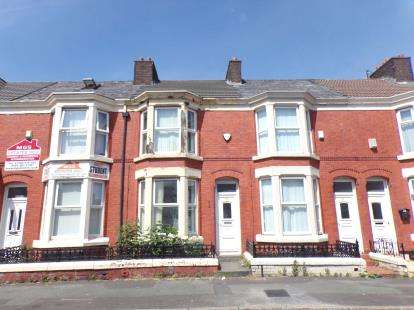 3 Bedrooms Terraced House for sale in Connaught Road, Liverpool, Merseyside, England, L7