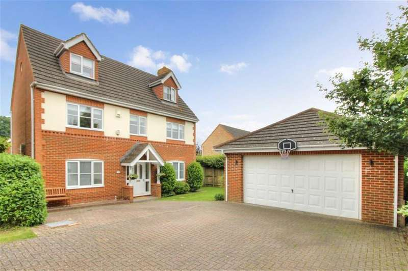 5 Bedrooms Detached House for sale in Morgan Le Fay Drive, Knightwood Park, Chandlers Ford, Hampshire