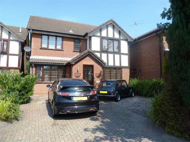 5 Bedrooms Detached House for sale in Elmstead Crescent, Crewe