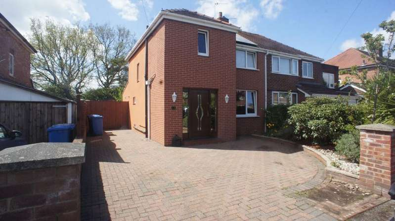 3 Bedrooms Semi Detached House for sale in Barnes Avenue, Warrington