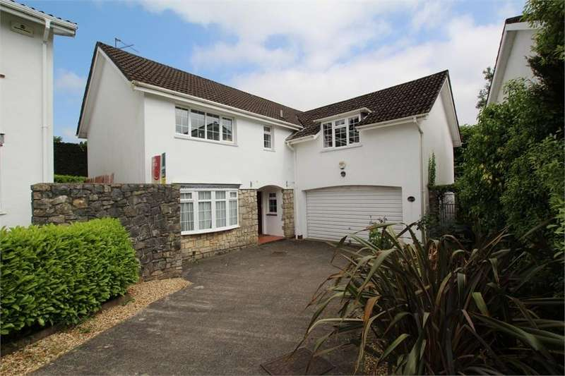 5 Bedrooms Detached House for sale in Tanglewood Close, Lisvane, Cardiff