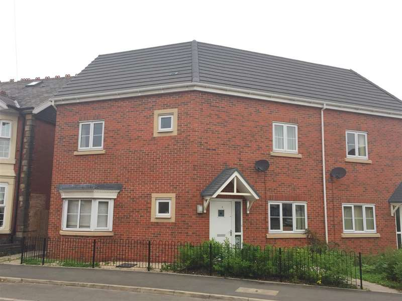 3 Bedrooms Semi Detached House for sale in Saw Mill Way, Burton-On-Trent